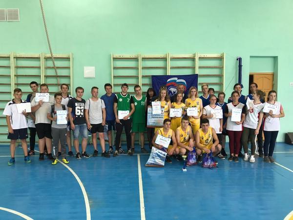 В регионе продолжаются отборочные этапы турнира «Планета баскетбола – Оранжевый атом»