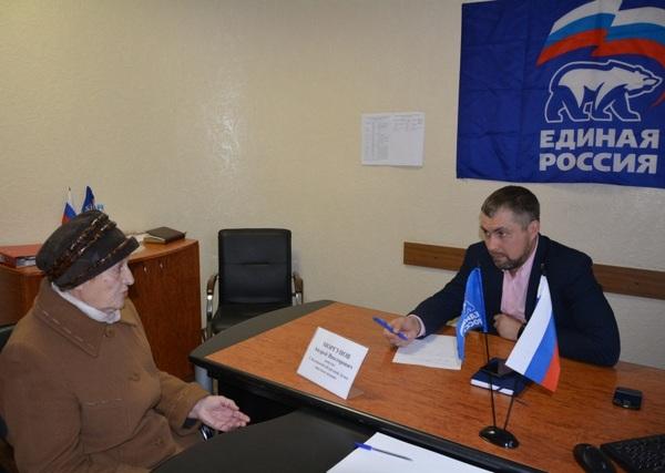 Андрей Моргунов провёл приём граждан в Рудне