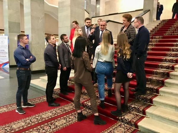 Студенты и преподаватели СмолГУ посетили Государственную Думу